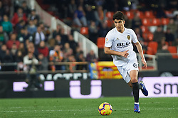 January 26, 2019 - Valencia, Valencia, Spain - Carlos Soler of Valencia CF during the La Liga Santander match between Valencia and Villarreal at Mestalla Stadium on Jenuary 26, 2019 in Valencia, Spain. (Credit Image: © Maria Jose Segovia/NurPhoto via ZUMA Press)