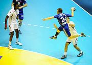 DESCRIZIONE : France Hand Equipe de France Homme Match Amical Nantes<br /> GIOCATORE : OSTERTAG Sebastien<br /> SQUADRA : France<br /> EVENTO : FRANCE Equipe de France Homme Match Amical  2010-2011<br /> GARA : France Tunisie<br /> DATA : 30/10/2010<br /> CATEGORIA : Hand Equipe de France Homme <br /> SPORT : Handball<br /> AUTORE : JF Molliere par Agenzia Ciamillo-Castoria <br /> Galleria : France Hand 2010-2011 Action<br /> Fotonotizia : FRANCE Hand Hand Equipe de France Homme Match Amical Nantes<br /> Predefinita :