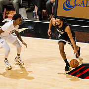21 December 2017: The San Diego State men's basketball team hosts the 12/15 Gonzaga Bulldogs . The Aztecs lead 25-23 at the half. <br /> www.sdsuaztecphotos.com