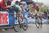 Tiralongo Paolo -  Astana /   Contador Alberto -  Tinkoff - Saxo - 21.05.2015 - Etape 12 du Giro 2015<br />Photo : Sirotti / Icon Sport *** Local Caption ***