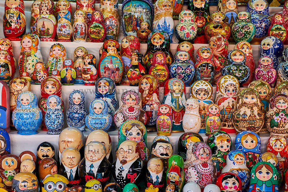 Russie, Moscou, Poupées Russes, Matriochka // Russia, Moscow, Russian doll, Matryochka