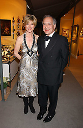 ANTHEA TURNER and ALASTAIR STEWART at the British Antiques Dealers Association antiques & Fine art fair in aid of the charity Childline held at the Duke of York Square, Chelsea, London on 23rd March 2006.<br /><br />NON EXCLUSIVE - WORLD RIGHTS