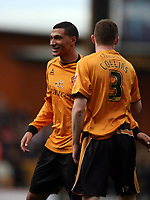 Photo: Rich Eaton.<br /> <br /> Wolverhampton Wanderers v West Bromwich Albion. Coca Cola Championship. 11/03/2007. Jay Bothroyd #10 who scored the only goal of the game for Wolves