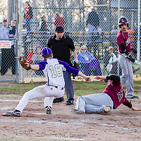 04-06-15 Berryville Baseball vs Lincoln