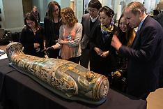 APR 09 2014 British Museum Ancient Lives press launch