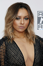 Kat Graham at the 2016 American Music Awards held at the Microsoft Theater in Los Angeles, USA on November 20, 2016.