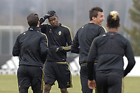 Paul Pogba,<br /> Vinovo (Torino) 22-02-2016, Football Calcio 2015/2016, Champions League Juventus - Bayern Allenamento Training  <br /> Foto Filippo Alfero/Insidefoto