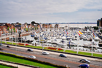 Hull Marina, Kingston Upon Hull, East Yorkshire, United Kingdom, 13 September, 2014. Pictured: Hull Marina & Folk Festival