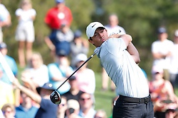 March 14, 2019 - Ponte Vedra Beach, FL, U.S. - PONTE VEDRA BEACH, FL - MARCH 14: Rory McIlroy of Northern Ireland hits a tee shot on the 16th hole during the first round of THE PLAYERS Championship on March 14, 2019 on the Stadium Course at TPC Sawgrass in Ponte Vedra Beach, Fl. (Photo by David Rosenblum/Icon Sportswire) (Credit Image: © David Rosenblum/Icon SMI via ZUMA Press)