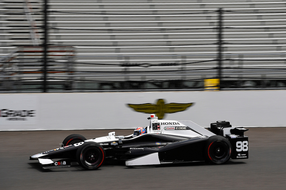 12-14 May, 2016, Indianapolis, Indiana, USA<br /> Alexander Rossi<br /> &copy;2016, Scott R LePage <br /> LAT Photo USA