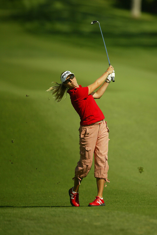 Carin Koch..2004 Kraft Nabisco Championship.MIssion Hills CC.Rancho Mirage, CA .First Round.Thursday, March 25 2004..photograph by Darren Carroll