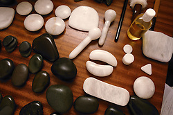 Selection of stones used for La Stone Therapy,