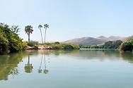 Africa, Namibia, Kuene, Kuene river, Angola Border
