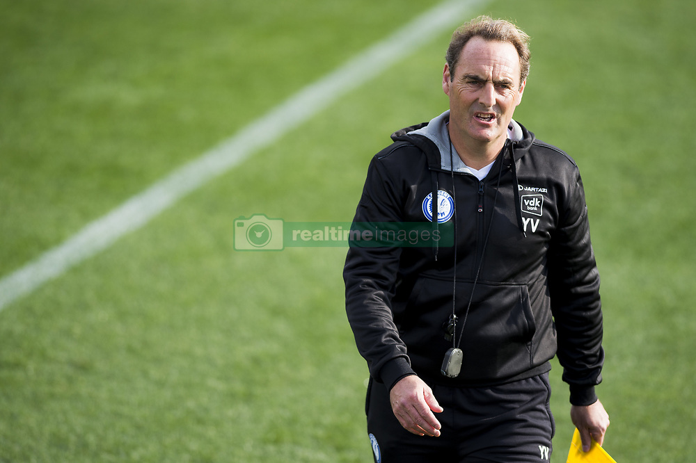 January 6, 2018 - Oliva, SPAIN - Gent's head coach Yves Vanderhaeghe pictured during the second day of the winter training camp of Belgian first division soccer team KAA Gent, in Oliva, Spain, Saturday 06 January 2018. BELGA PHOTO JASPER JACOBS (Credit Image: © Jasper Jacobs/Belga via ZUMA Press)