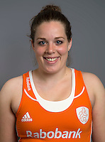 ARNHEM - Larissa Meijer. Nederlands Hockeyteam dames voor Wereldkamioenschappen hockey 2014. FOTO KOEN SUYK