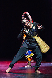 Pictured:  Mela on Your Doorstep event. A snapshot of the annual Glasgow Mela, which takes place next weekend, including music and dance. Tramway, Abhinaya Group, Natayam Dance<br /> Karen Gordon  (c) Edinburgh Elite media 10 July 2016