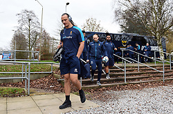 Anton Bresler and the rest of the Worcester Warriors team arrive at Allianz Park - Mandatory byline: Patrick Khachfe/JMP - 07966 386802 - 29/12/2018 - RUGBY UNION - Allianz Park - London, England - Saracens v Worcester Warriors - Gallagher Premiership Rugby