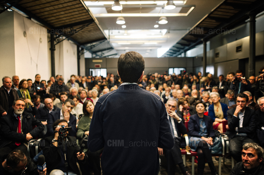 Roberto Speranza during the presentation of the new left party 'Democratici e Progressisti' born from the split of the 'Democratic Party' and 'Italian Left'. Rome, 25 February 2017. Christian Mantuano / OneShot