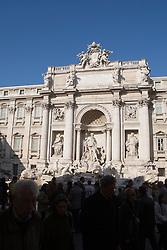 Trevi Fountain / Fontana di Trevi - Rome, Italy November 30, 2007.