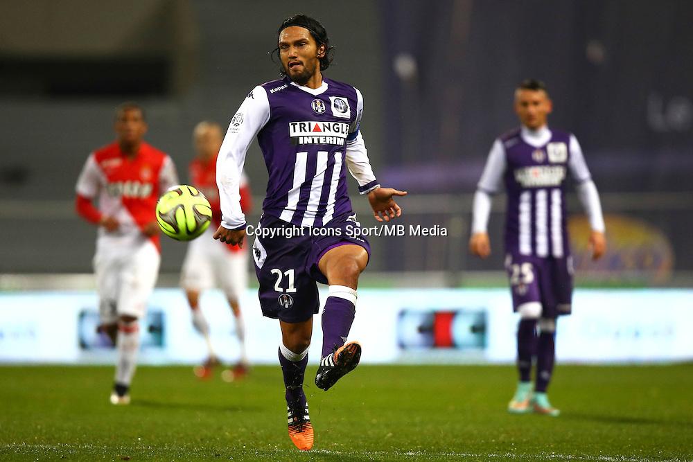 Abel Aguilar - 05.12.2014 - Toulouse / Monaco - 17eme journee de Ligue 1 -<br />Photo : Manuel Blondeau / Icon Sport