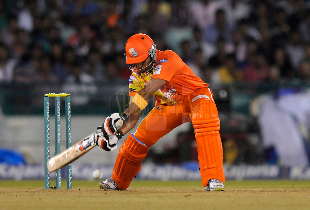 Umar Akmal of Lahore Lions bats during the qualifier 2 match of the Oppo Champions League Twenty20 between the Mumbai Indians and the Lahore Lions held at the Chhattisgarh International Cricket Stadium, Raipur, India on the 13th September 2014<br /> <br /> Photo by:  Pal Pillai / Sportzpics/ CLT20<br /> <br /> <br /> Image use is subject to the terms and conditions as laid out by the BCCI/ CLT20.  The terms and conditions can be downloaded here:<br /> <br /> <br /> http://sportzpics.photoshelter.com/gallery/CLT20-Image-Terms-and-Conditions-2014/G0000IfNJn535VPU/C0000QhhKadWcjYs