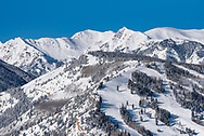 The Tiehack section of Buttermilk ski area in Aspen, Colorado.