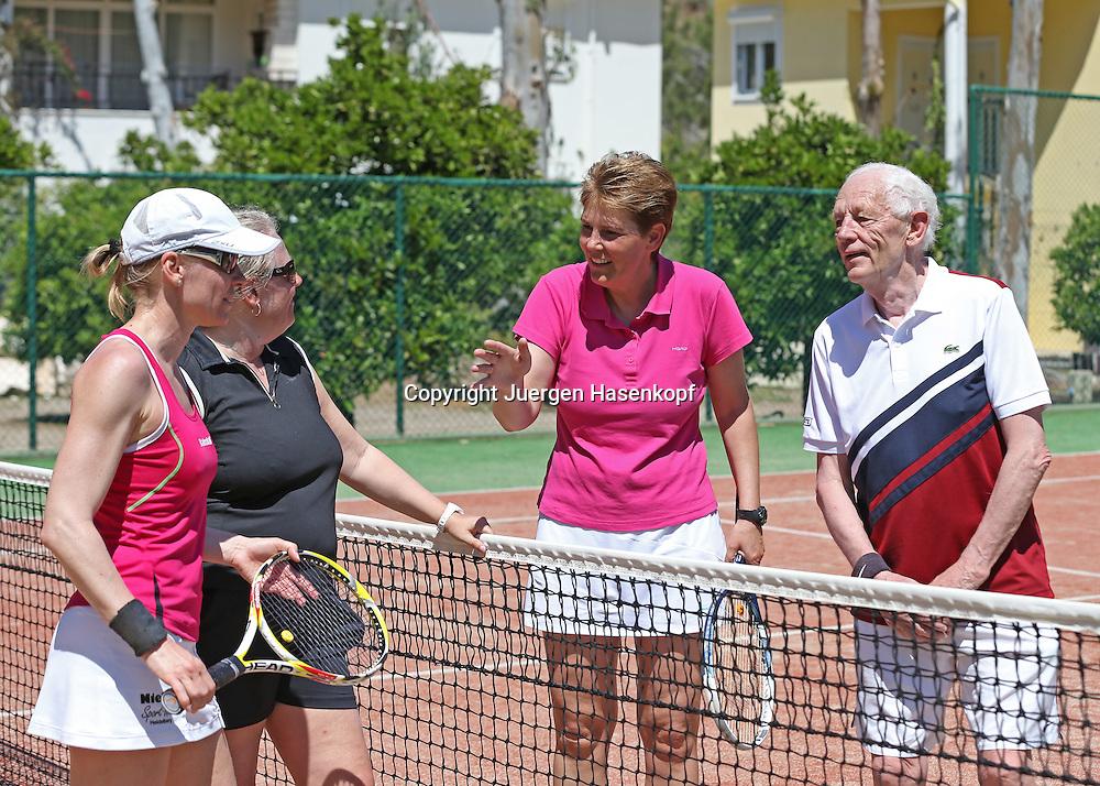 ex WTA Profi Claudia Porwik  betreibt ein Tennis Camp im Robinson Club Çamyuva,Antalya,Türkei, Trainer, Training