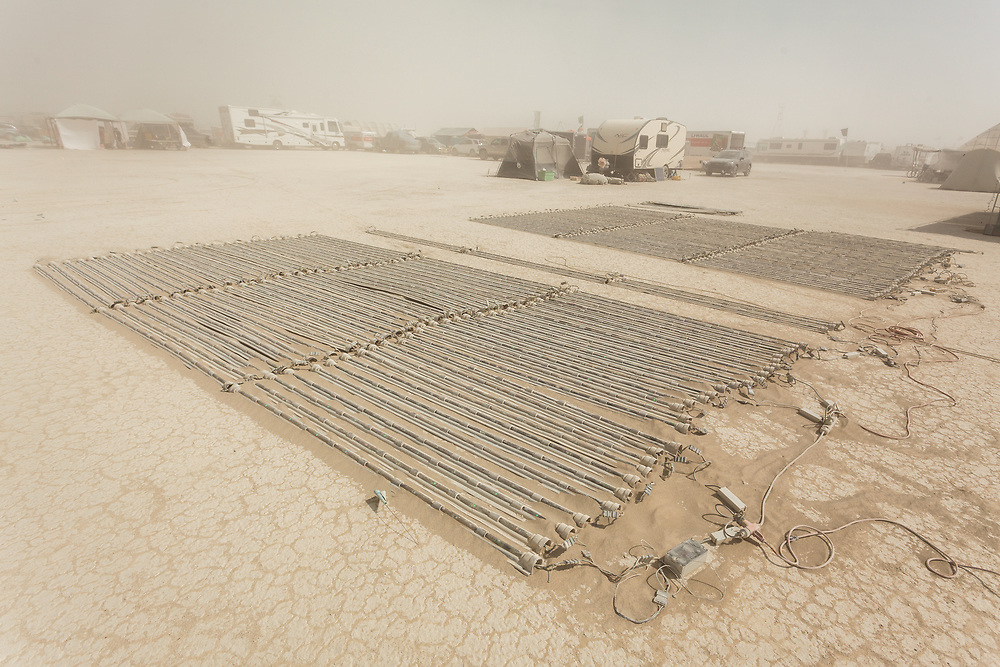 Previously known as L4K, these are the folks who create the ring of lights around the man. It also serves as perimeter for man burn. They are seeking funding for a new set of lights to mark the ring around the man. My Burning Man 2018 Photos:<br />