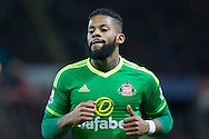 Jeremain Lens of Sunderland during the Barclays Premier League match between Swansea City and Sunderland at the Liberty Stadium, Swansea, Wales on 13 January 2016. Photo by Mark Hawkins.