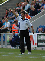 Photo: Tony Oudot/Richard Lane Photography.Colchester United v Leeds United. Coca Cola League One. 29/08/2009. <br />