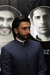 DURBAN - 5 September 2013 - Bollywood star Ranveer Singh faces up to the media in Durban, South Africa, where he is attending the South Africa INdia Film and Teevision Awards. Picture: Allied Picture Press/APP