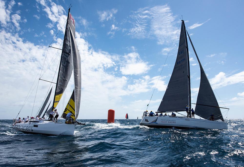 Oceanracers at Antigua Sailing Week