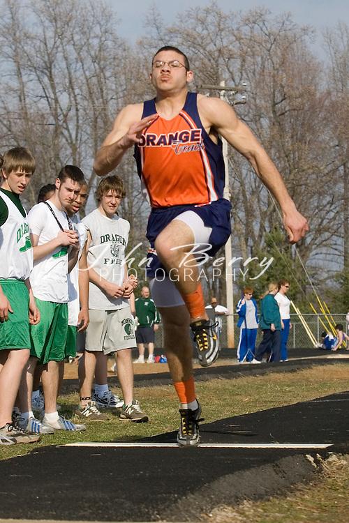 MCHS Track & Field.vs Orange and Greene.March 22, 2007