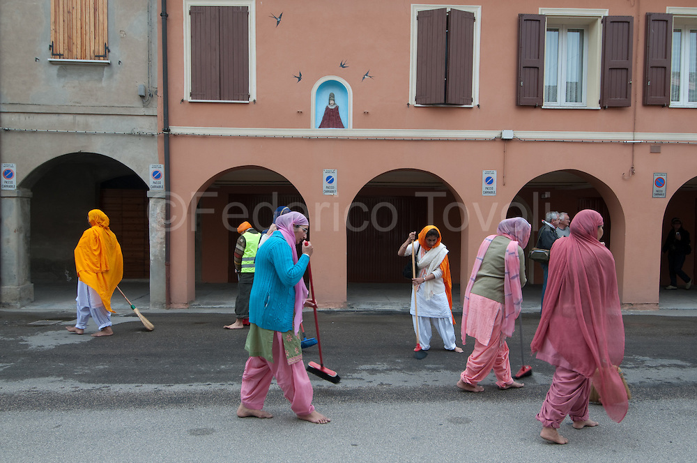 During the Baisaki ( the most important feast of Sikh calendar ) celebrations at Novellara