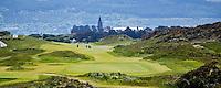 NEWCASTLE NORTHERN IRELAND-  Hole 1     , ROYAL COUNTY DOWN GC, nr. 3 van de wereldranglijst. .  COPYRIGHT KOEN SUYK