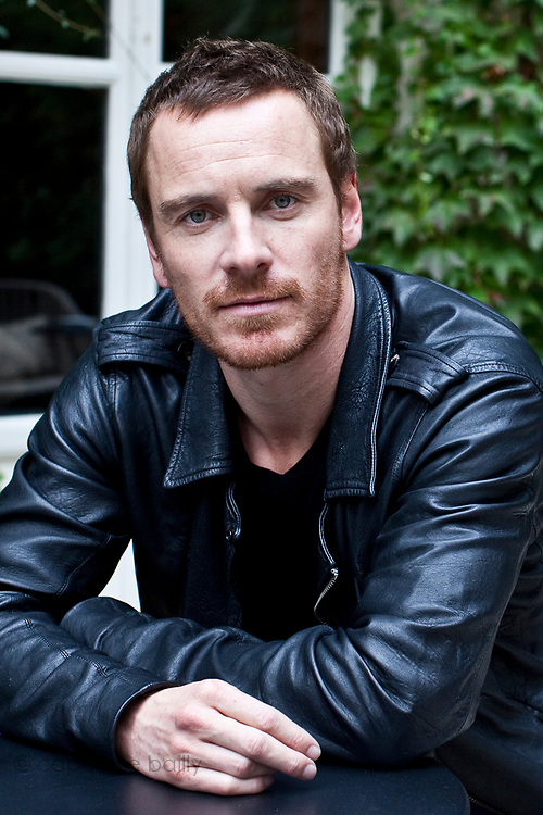 Hotel Le Pavillon de la Reine. Paris, France. <br /> October 10th 2011.<br /> Michael Fassbender
