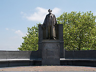 Carl Schurz monument, a defender of liberty and human rights, at Morningside Park