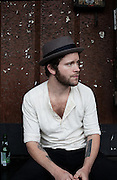 BIRMINGHAM, AL – APRIL 26, 2012: Singer songwriter Matthew Mayfield.