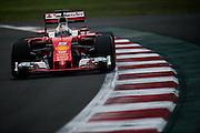 October 28, 2016: Mexican Grand Prix. Sebastian Vettel (GER), Ferrari
