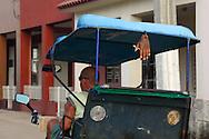 Bicitaxi in Bauta, Artemisa, Cuba.