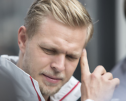 October 21, 2018 - Austin, USA - Haas driver Kevin Magnussen (20) of Denmark before the start of the Formula 1 U.S. Grand Prix at the Circuit of the Americas in Austin, Texas on Sunday, Oct. 21, 2018. (Credit Image: © Scott Coleman/ZUMA Wire)