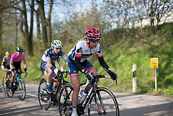 Stephanie Pohl (GER) of Cervélo-Bigla Cycling Team during the second, 110.1km road race stage of Elsy Jacobs - a stage race in Luxembourg in Garnich on May 1, 2016.