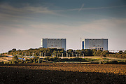 Hinkley Point C nuclear power station is a project funded by China to construct a 3,200 MWe nuclear power station with two European Pressurised Reactors in Somerset, England.