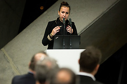 Nina Spremo during General Assembly of Slovenian Tennis Federation, on December 12, 2018 in Kristalna palaca, Ljubljana, Slovenia. Photo by Vid Ponikvar / Sportida