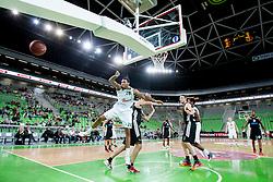Kodi Augustus #24 of KK Union Olimpija during basketball match between KK Union Olimpija and  Cimberio Varese (ITA) of 1st Round of Regular season of EuroCup 2013/2014 on October 16, 2013, in SRC Stozice, Ljubljana, Slovenia. (Photo by Urban Urbanc / Sportida)