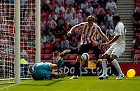 Photo: Jed Wee/Sportsbeat Images.<br /> Sunderland v Juventus. Pre Season Friendly. 04/08/2007.<br /> <br /> Sunderland's Daryl Murphy scores from close range.