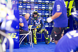 June 16, 2018 - Barcelone, Espagne - VALENTINO ROSSI - ITALIAN - MOVISTAR YAMAHA MotoGP - YAMAHA (Credit Image: © Panoramic via ZUMA Press)