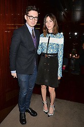 ERDEM MORALIOGLU and GIA COPPOLA at a dinner hosted by Liberatum to honour Francis Ford Coppola held at the Bulgari Hotel & Residences, 171 Knightsbridge, London on 17th November 2014.