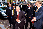 Staatsbezoek President van de Russische Federatie op 1 en 2 november 2005 <br />