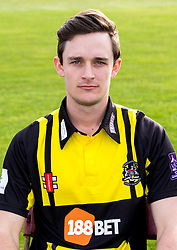 Gareth Roderick of Gloucestershire Cricket poses for a headshot in the Royal London One Day Cup kit - Mandatory by-line: Robbie Stephenson/JMP - 04/04/2016 - CRICKET - Bristol County Ground - Bristol, United Kingdom - Gloucestershire  - Gloucestershire Media Day